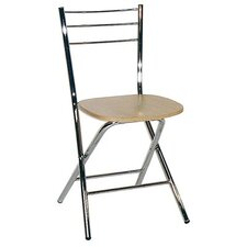 Mono Folding Chair with Wood Seat