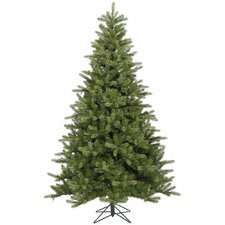 King 7.5' Green Spruce Artificial Christmas Tree with Stand