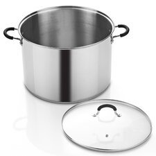 Cook N Home 20-qt. Stock Pot with Lid