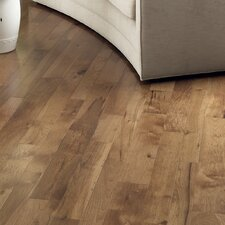 "Character 5"" Engineered Hickory Hardwood Flooring in Hickory Saddle"