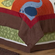 Jungle Time Queen Bed Skirt