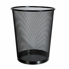 Steel 4.5 Gallon Waste Basket