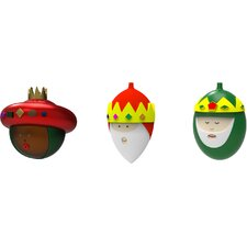 Le Palle Presepe 3 Piece Figurine Ornament Set