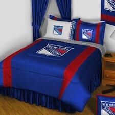 NHL New York Rangers Sidelines Comforter