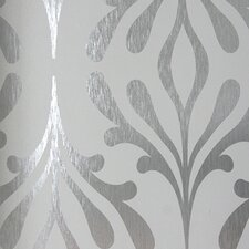"Candice Olson Inspired Elegance 33' x 20.5"" Foiled Wallpaper Roll"