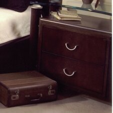 Allegro 2 Drawer Nightstand
