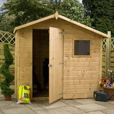 7 x 5 Wooden Shiplap Apex Storage Shed