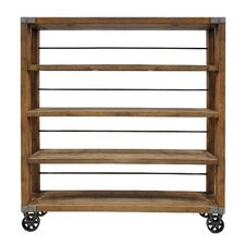 "Collins 78"" Etagere Bookcase"