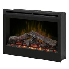 """Electraflame 33"""" Self Trimming Wall Mount Electric Fireplace"""