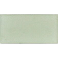 """Arctic Ice 3"""" x 6"""" Glass Wall Tile in White"""