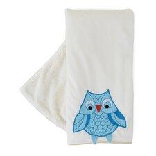 Funny Friends Owl Blanket