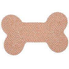 Dog Bone Houndstooth Bright Pet Doormat