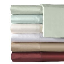 500 Thread Count Supreme Sateen Solid Sheet Set