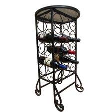 15 Bottle Floor Wine Rack
