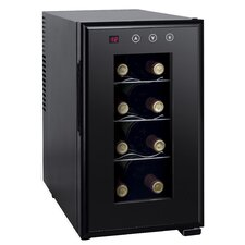 8 Bottle Single Zone Freestanding Wine Cooler