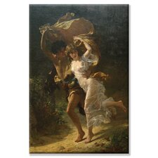 'The Storm' by Pierre Auguste Cot Painting Print on Canvas