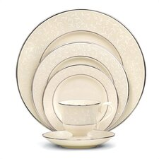 Pearl Innocence Bone China 5 Piece Place Setting, Service for 1