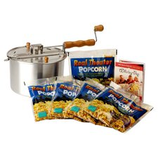 Whirley Pop 7 Piece Stove Top Popcorn Popper Set