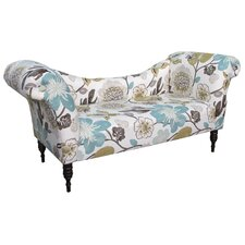 Gorgeous Roll Arm Chaise Lounge