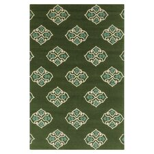 Storm Spruce Forest Area Rug