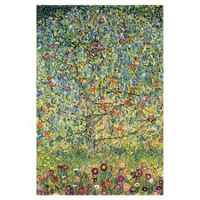 Apple Tree by Gustav Klimt Framed Painting Print on Wrapped Canvas