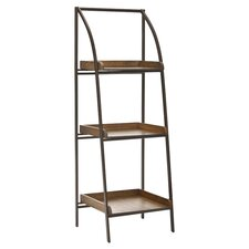 "Taylor 47"" Leaning Bookcase"