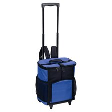 48 Can Shuttle Rolling Picnic Cooler