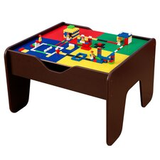 Activity 2-in-1 Kids Square Lego/Train Table