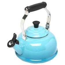 Enamel On Steel 1.8 Qt. Classic Whistling Tea Kettle