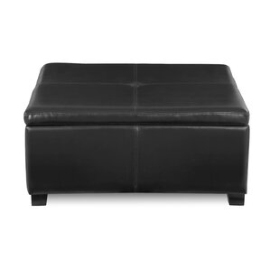 Simmons Upholstered Storage Cocktail Ottoman