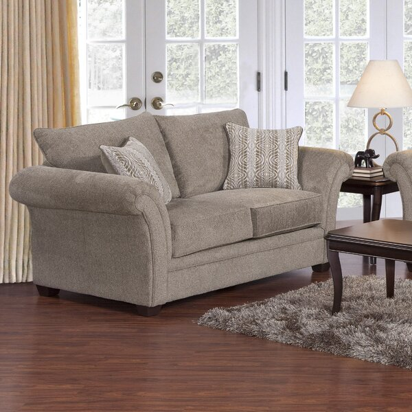 Three Posts Serta Upholstery Belmont Loveseat & Reviews | Wayfair