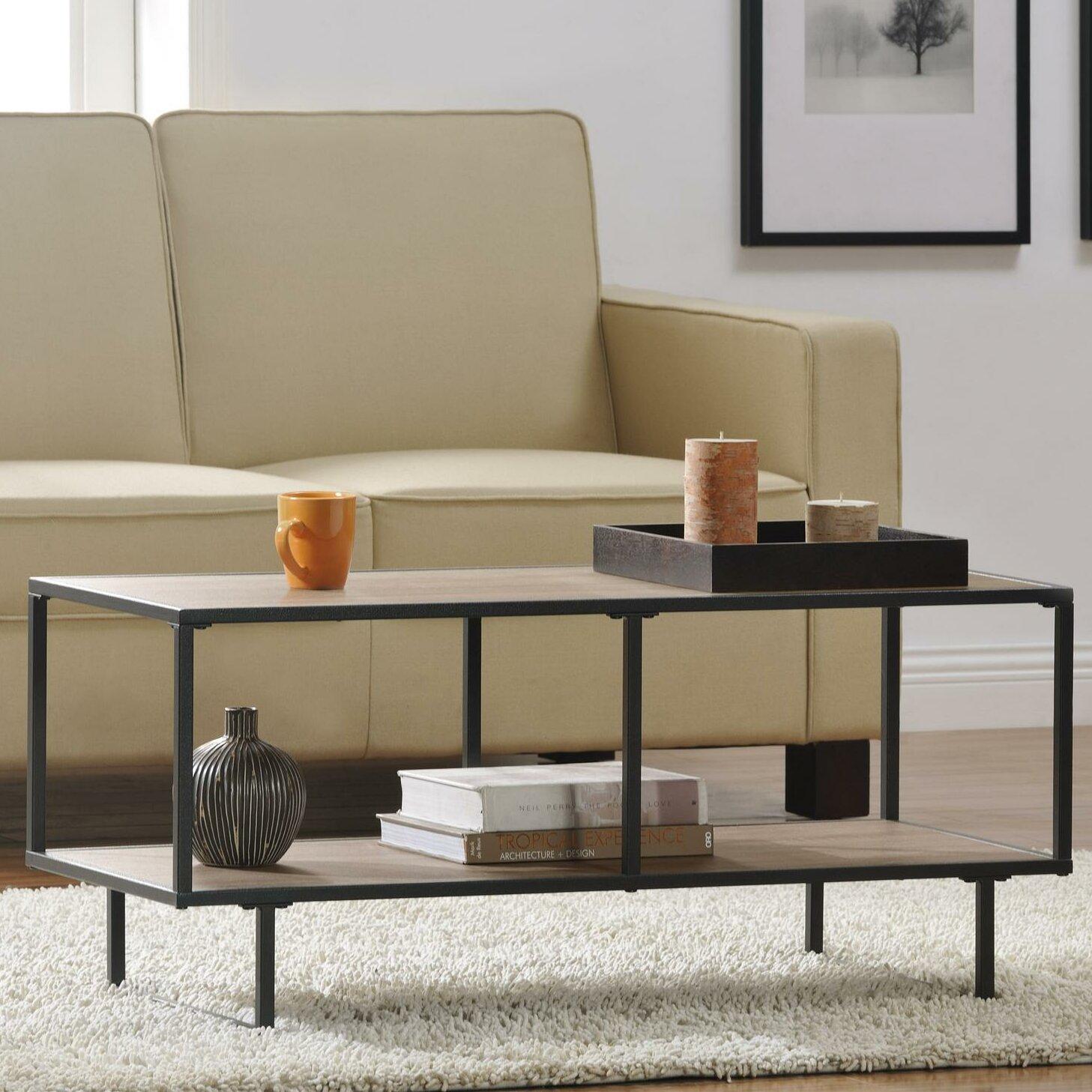 Modern Farmhouse Coffee Table: Laurel Foundry Modern Farmhouse Zenaida Coffee Table
