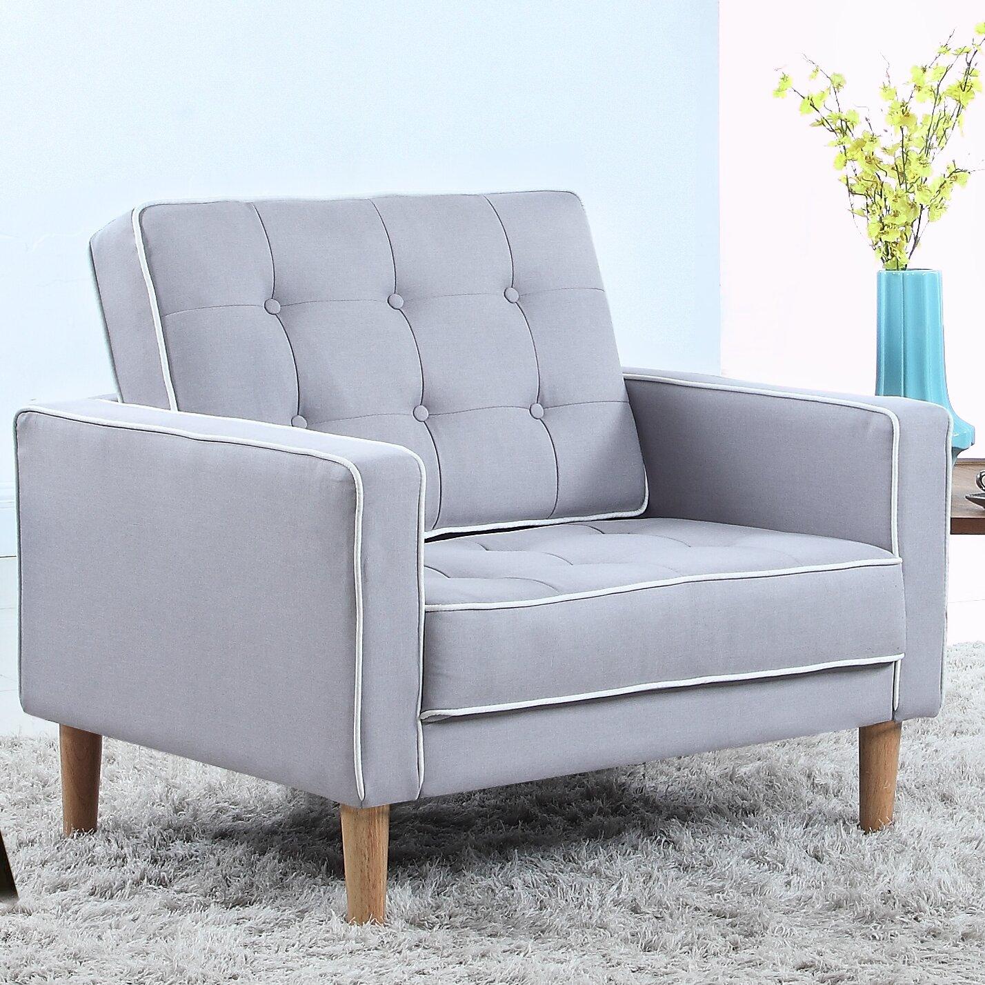 Mid Century Modern Fabric Living Room Armchair Reviews