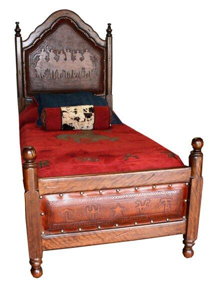 New World Trading Spanish Panel Bed