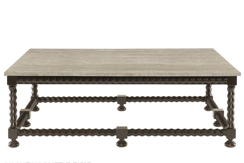 stone & slate coffee tables you'll love | wayfair