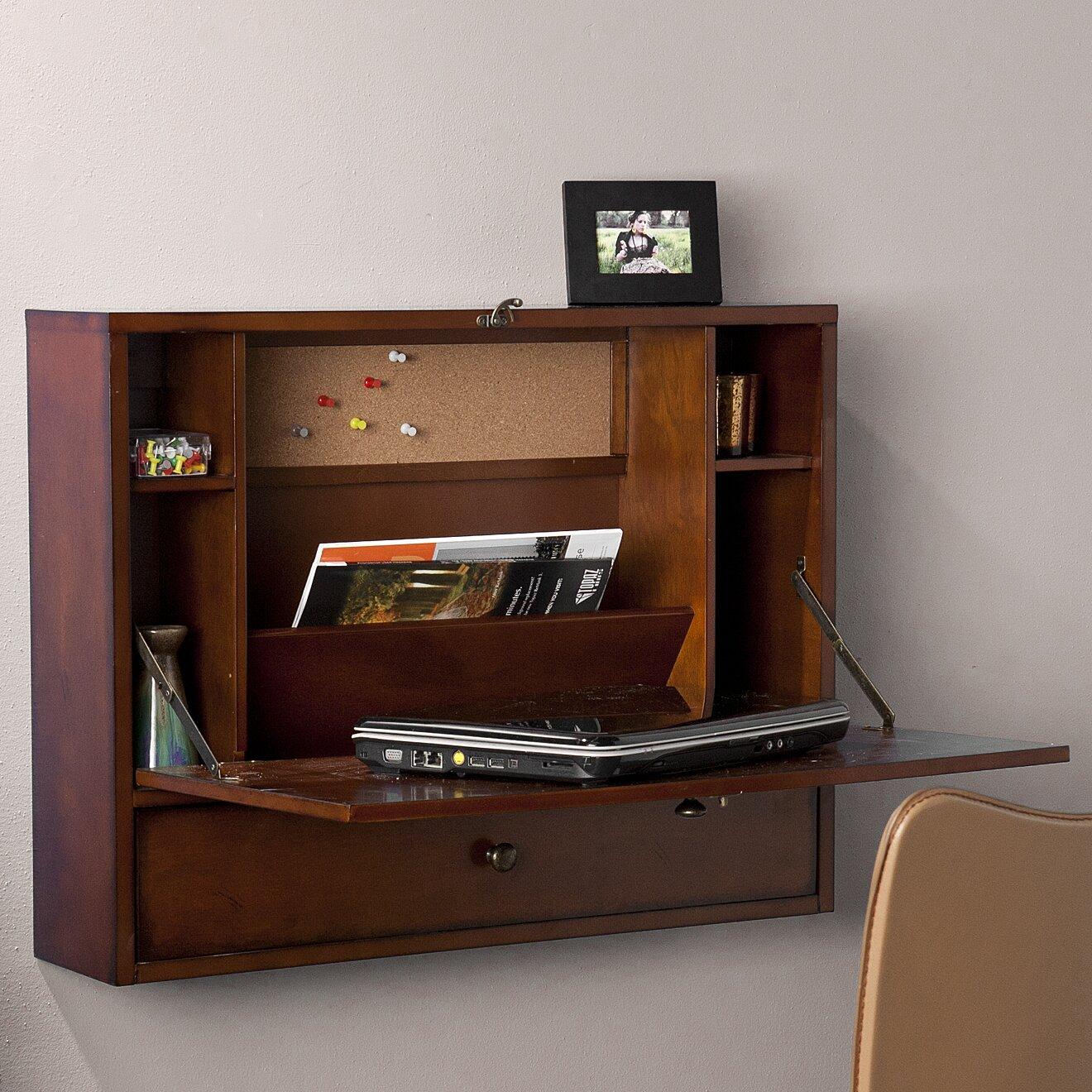 wildon home floating desk reviews wayfair. Black Bedroom Furniture Sets. Home Design Ideas