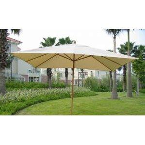 8u0027 X 11u0027 Rectangular Market Umbrella