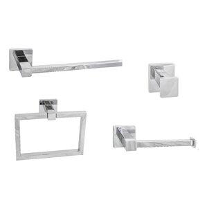 Kinnerly 4-Piece Bathroom Hardware Set