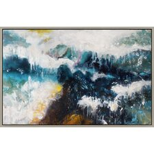 Whitecaps Framed Painting Print