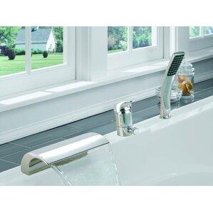 Single Handle Deck Mount Bath Tub Faucet