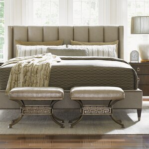 Tower Place Upholstered Panel Bed