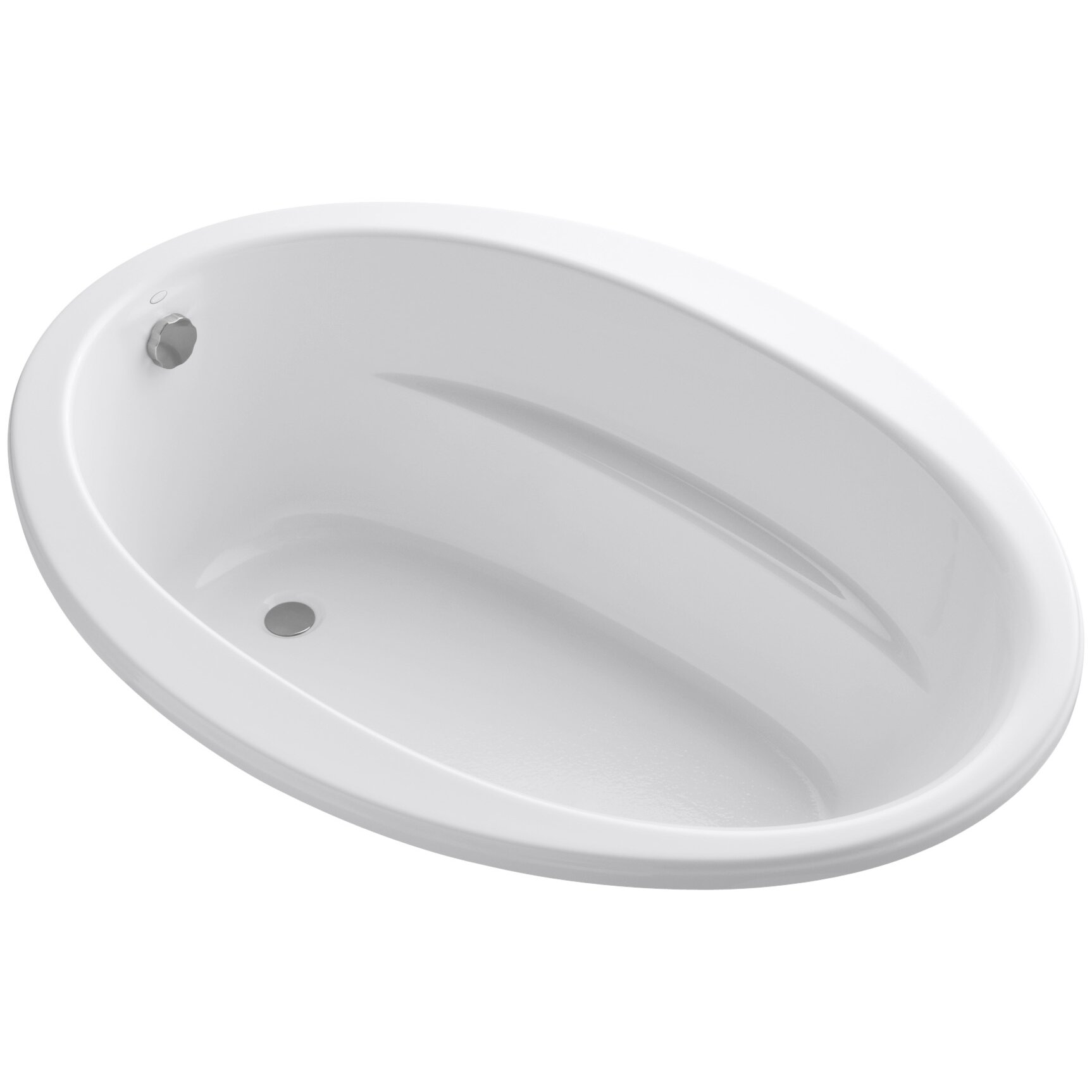 Bathtub backrest headrest - Sunward 60 X 42 Soaking Bathtub