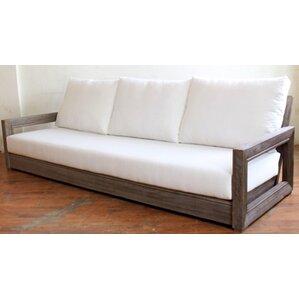 patio sofas & loveseats you'll love | wayfair