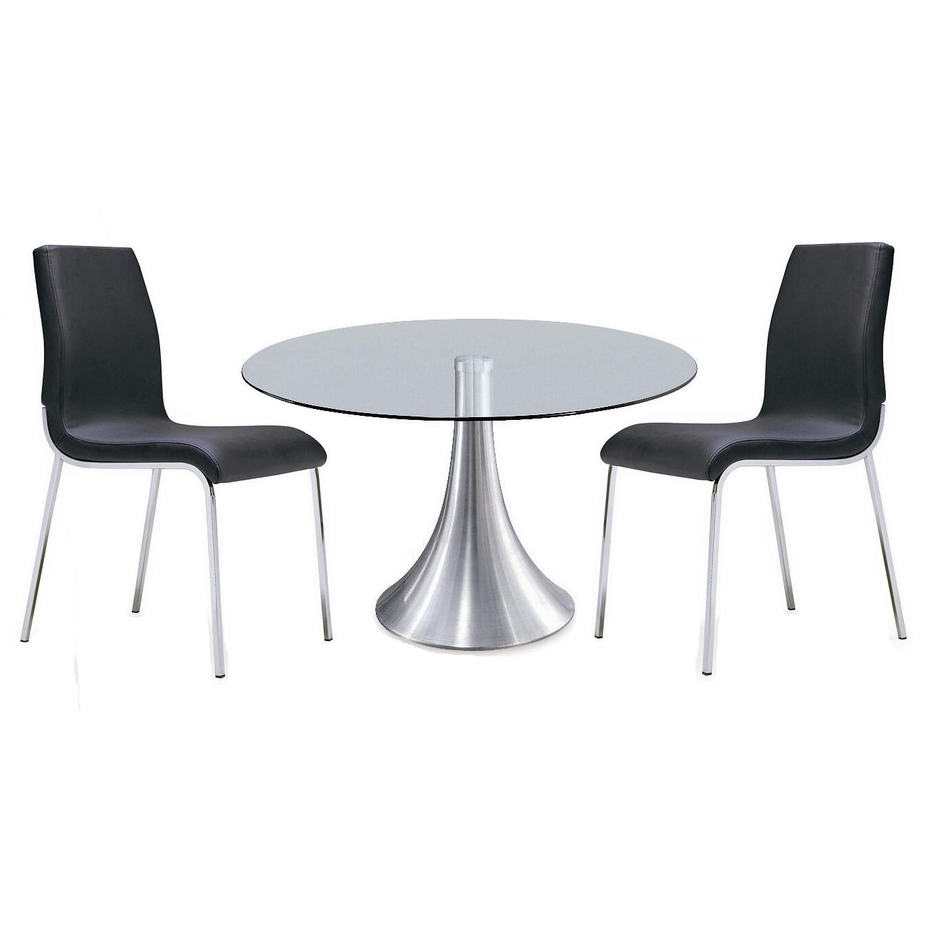 Cafe dining table reviews allmodern for Table 85 restaurant menu