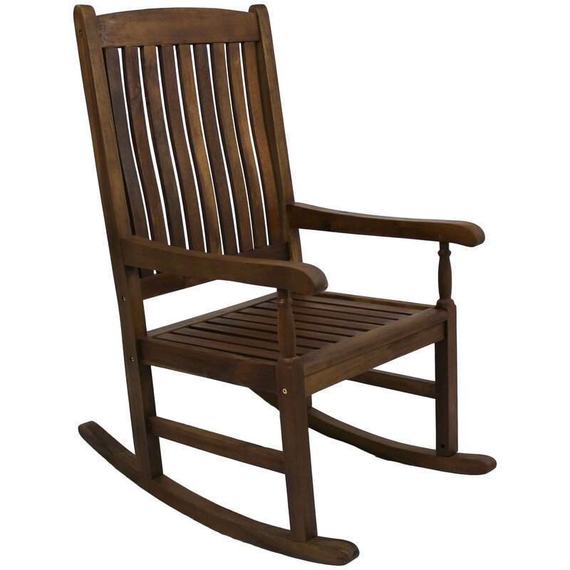 Wooden Outdoor Rocking Chairs