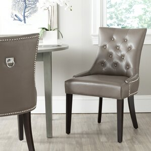 mcdaniel ring upholstered dining chair set of 2 grey kitchen dining chairs you ll love wayfair - Wayfair Dining Chairs
