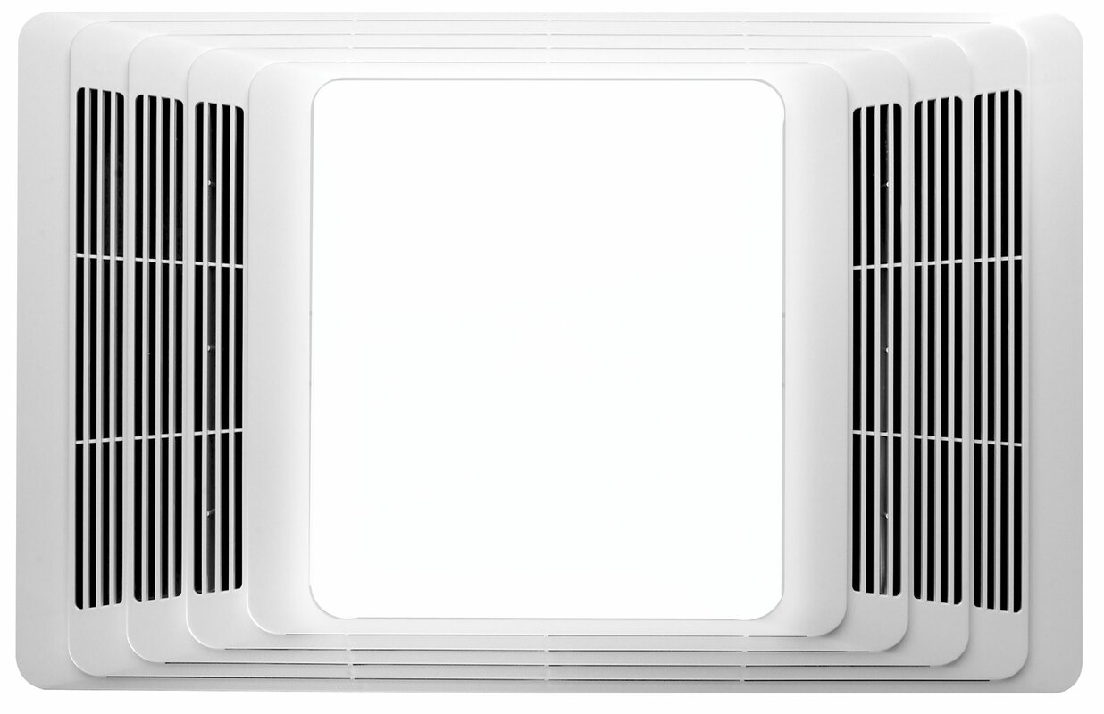 Broan 70 CFM Bathroom Fan And Heater With Light & Reviews