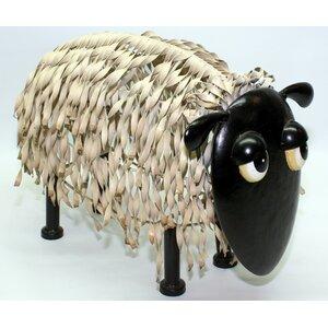 Metal Sheep Garden Statue
