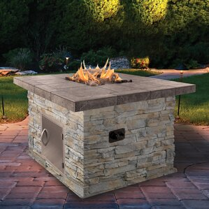 Natural Gas Outdoor Fireplaces U0026 Fire Pits Youu0027ll Love | Wayfair  Patio Gas Fire Pit