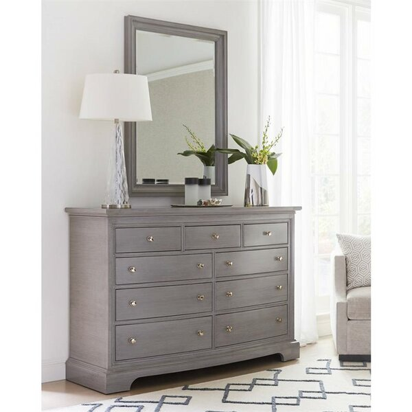 Transitional Bedroom Furniture: Stanley Transitional 9 Drawer Dresser & Reviews